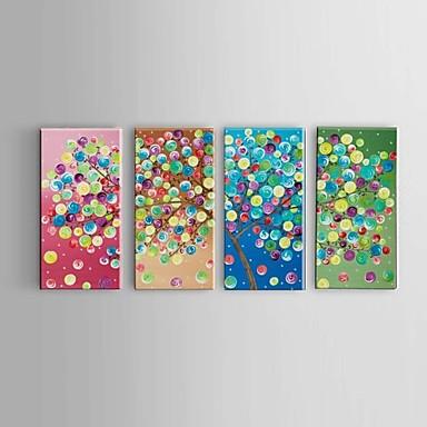 Pintados à mão Abstracto / Paisagem / Vida Imóvel / Fantasia / Floral/Botânico Pinturas a óleo,Modern / Pastoril / Estilo Europeu4