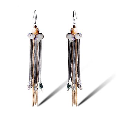Frynsetip(s) Legering Blomstformet Sølv Smykker For Daglig 1 par