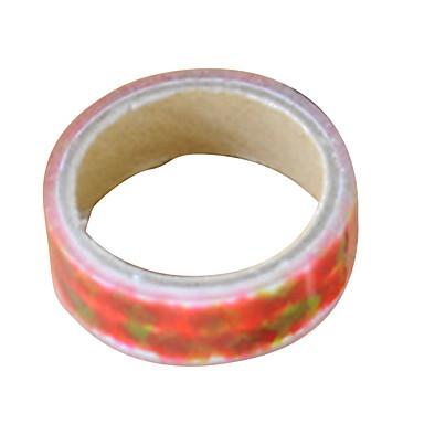 transparent farge annet materiale emballasje& frakt tape en pakke med fem