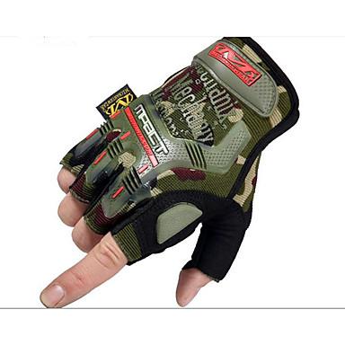 forår og sommer segl mænds udendørs sport taktisk cykel ridning cs semi finger handsker