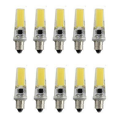 800 lm E11 Lâmpadas de Foco de LED T 1 leds COB Decorativa Branco Quente Branco Frio AC 220-240V AC 85-265V