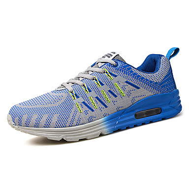Sneakers-Tyl-Komfort-Herre-Blå Gul Orange-Udendørs Fritid Sport-Lav hæl