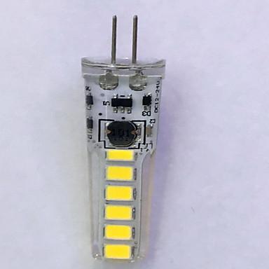 240lm G4 LED Doppel-Pin Leuchten T 12LED LED-Perlen SMD 5730 Dekorativ Warmes Weiß / Kühles Weiß 12V
