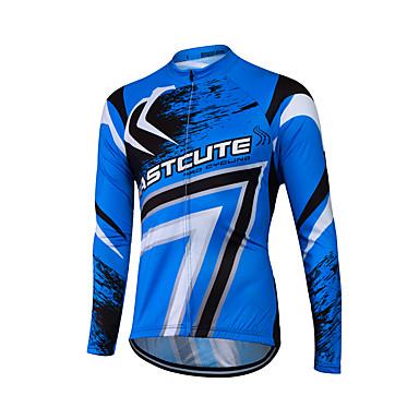 Fastcute Fahrradtrikot Herrn Damen Unisex Langarm Fahhrad Sweatshirt Trikot/Radtrikot Oberteile Fahrradbekleidung Rasche Trocknung