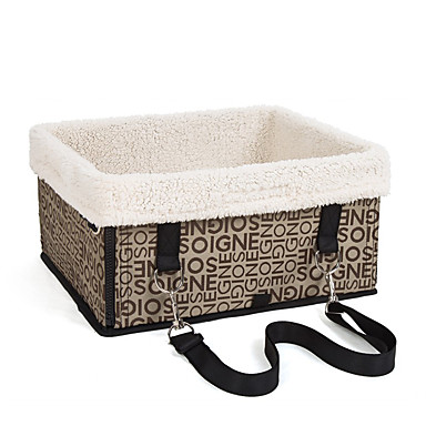 Dog Carrier & Travel Backpack Pet Baskets Portable Black Beige Dark Brown Silver/Gray For Pets