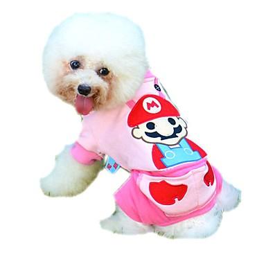leuke cartoon patroon jumpsuits voor huisdieren honden (diverse maten en kleuren)