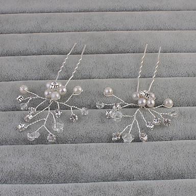 Künstliche Perle Haarnadel mit 1 Hochzeit / Besondere Anlässe / Normal Kopfschmuck