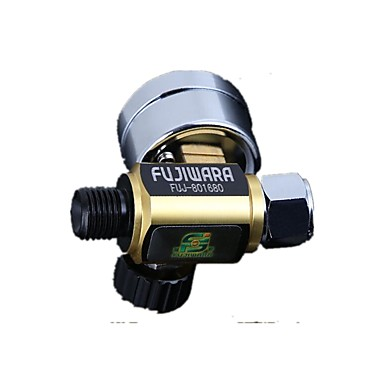 pistool lucht drukregelaar tafel paintspray pistool lage druk regelklep manometer groen kanon luchtverbruik
