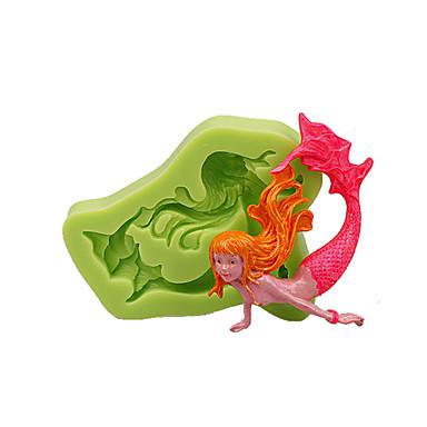 Backwerkzeuge Silikon Umweltfreundlich / 3D / Heimwerken Kuchen / Obstkuchen / Chocolate Tier Backform 1pc