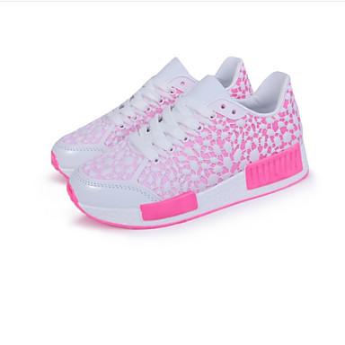 Sneakers-Tilpassede materialerDame-Gul Rosa-Udendørs Formelt Fritid-Flad hæl