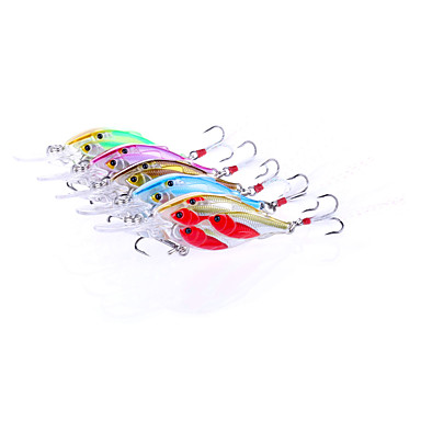 5 stk Sluk Krumtapp Hard Plastikk Ferskvannsfiskere Generelt fisking Lokke Fiske Bass Fiske