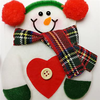 Polyester Bruiloftsdecoraties-1piece / Set Kerstmis rustieke Theme Winter