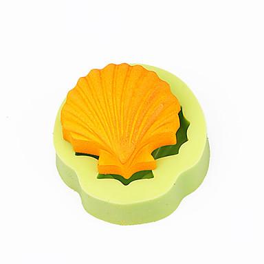 kammmuscheln muscheln cupcake dekoration silikon fondant mould werkzeuge schokolade seife machen farbe zufällig