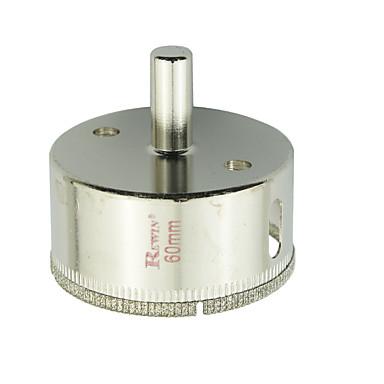 agujeros de cristal de acero de aleación herramienta REWIN agujero abridor de tamaño 60mm-2pcs / box