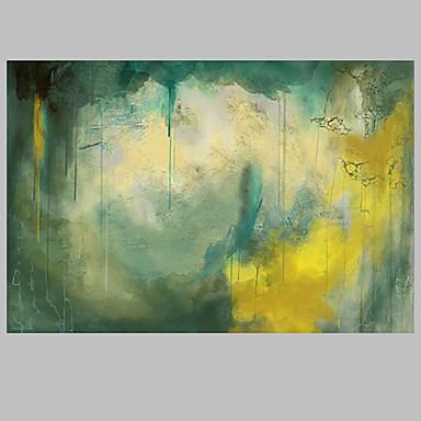 Handgeschilderde Abstract Olie schilderijen,Modern / Klassiek / Traditioneel / Realisme / Mediterraans / Pastoraal / Europese StijlEén