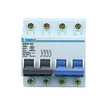 DZ47 doubles schakelen / dual power switch / double interlock switch automatische zekering