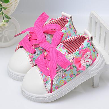 Sneakers-Bomuld-Espadriller-Pige-Lilla Lys pink Lys Grøn-Sport-Flad hæl