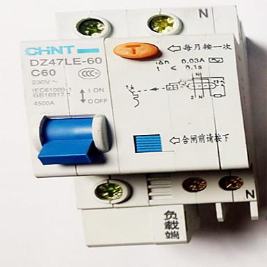 kleine automaten intelligente lekkage bescherming switch 1p n lage druk