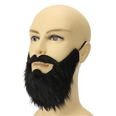 nye til mænd funny halloween kostume party mandlige dække op sort skæg