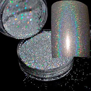 1 pcs Pó Glitters / Clássico / Glitter & Sparkle Diário