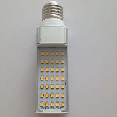 abordables Ampoules électriques-LED à Double Broches 900-1000 lm G23 G24 E26 / E27 T 35 Perles LED SMD 2835 Décorative Blanc Chaud Blanc Froid 100-240 V 220-240 V 110-130 V / 1 pièce / RoHs / CE