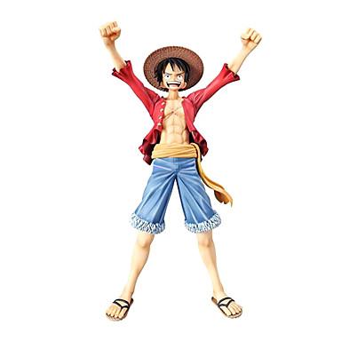 Anime Action Figurer Inspirert av One Piece Monkey D. Luffy CM Modell Leker Dukke Herre Gutt Jente Klassisk Moro