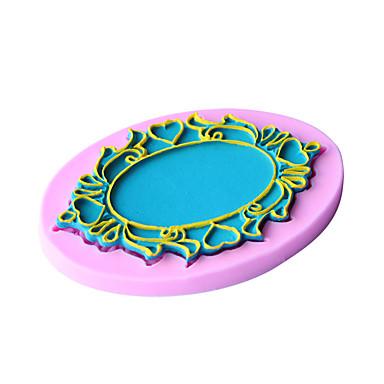 Moldes de bolos Pão Bolo Biscoito Cupcake Torta Pizza Chocolate Gelo Silicone Amiga-do-Ambiente Anti-Aderente Faça Você Mesmo Ferramenta