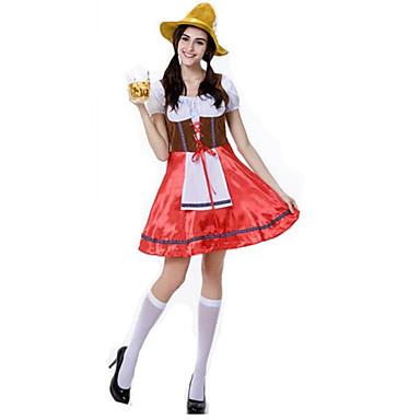 Dienstmeisje Pakken Oktoberfest Vampieren Cosplay Kostuums Feestkostuum Vrouwelijk Halloween Kerstmis Carnaval Nieuwjaar Oktoberfest