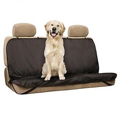 Hund Auto Sitzbezug Haustiere Matten & Polster Solide Wasserdicht Klappbar Schwarz Für Haustiere