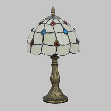 Flerskjerms Tiffany / Rustikk / Hytte / Original Bordlampe Harpiks Vegglampe 110-120V / 220-240V 25W