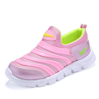 Loafers og Slip-ons-Læder-Komfort-Piger-Blå Rosa-Fritid-Flad hæl