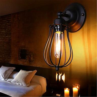Rústico / Campestre / Moderno / Contemporáneo / Campestre Lámparas de pared Metal Luz de pared 110-120V / 220-240V 40 W / E27