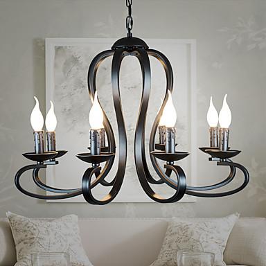 rustique lustre pour salle de s jour chambre coucher. Black Bedroom Furniture Sets. Home Design Ideas