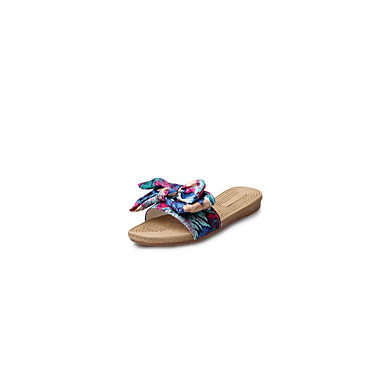 Tøfler & Klip Klapper-Gummi-Komfort-Damer--Fritid-Flad hæl