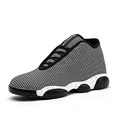 Men's Customized Materials Spring / Fall Shoes Comfort Athletic Shoes Walking Shoes Fall Slip Resistant Black / Gray / Red 967f72