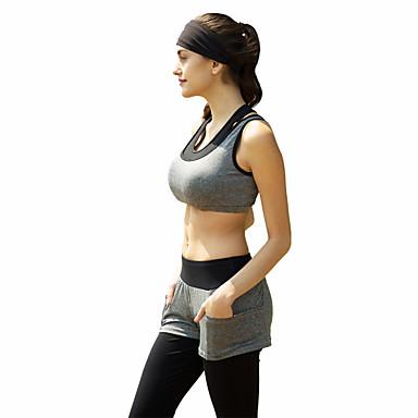 Damen Sport-BH mit Laufhose Ärmellos Rasche Trocknung Atmungsaktiv Schweißableitend Kleidungs-Sets für Yoga Pilates Klettern Übung &
