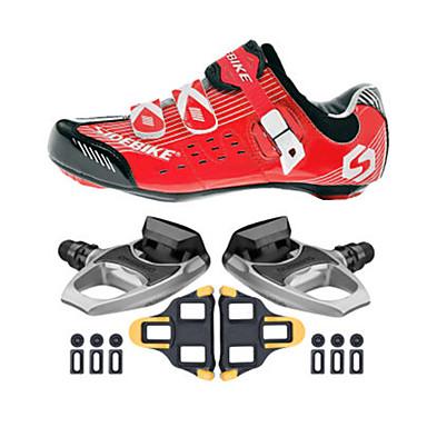 Fietsschoenen met pedalen & schoenplaten Unisex Opvulling Straatfiets