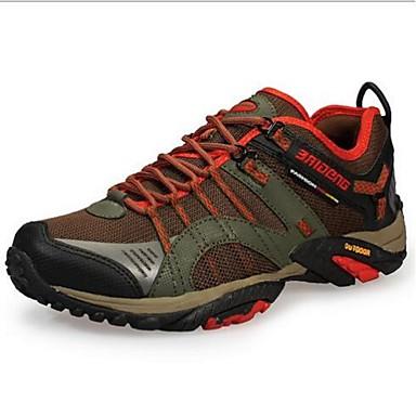 Masculino sapatos Pele Primavera Verão Outono Tênis Aventura Para Preto Khaki