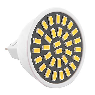 ywxlight® 6w mr16 led spotlight 32smd 5733 500-600lm warm / koel wit ac 110v / 220v