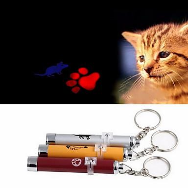 Лазерные игрушки Электроника Мышь Отпечаток ступни Алюминий Назначение Кошка Собака