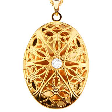 Hombre / Mujer Collares con colgantes - Chapado en Oro Vintage, Moda Dorado Gargantillas Para Fiesta, Diario, Casual