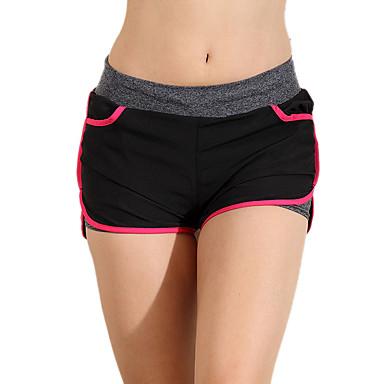 Yogabroek Trainingspak Ademend Hoge Ademende Werking (>15,001g) Compressie Comfortabel Lage taille Rekbaar Hoge Elasticiteit Sportkleding