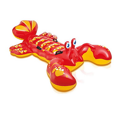Colchoneta Inflable juguete al aire libre Langosta / / Plástico Rojo Para Niños Todo
