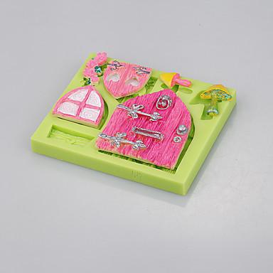 Backwerkzeuge Silikon Umweltfreundlich / nicht-haftend / Henkel Kuchen / Plätzchen / Cupcake Gebäck-Werkzeug
