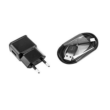 EU Plug AC fali töltő 100cm Micro USB kábel a samsung S6 / S4 / S3 / s2 és mások