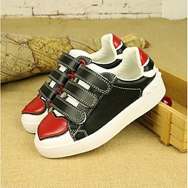 Unisex Schoenen Leer Herfst Sneakers Wandelen voor Causaal Wit Zwart