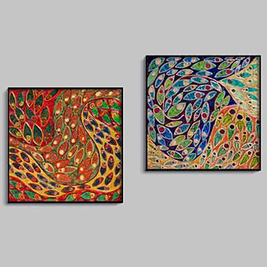 Fantasi Indrammet Lærred / Indrammet Sæt Wall Art,PVC Sort Ingen Måtte med Frame Wall Art