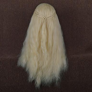 Pelucas sintéticas Ondulado Amplio Pelo sintético Peluca Mujer Larga / Muy largo Beige