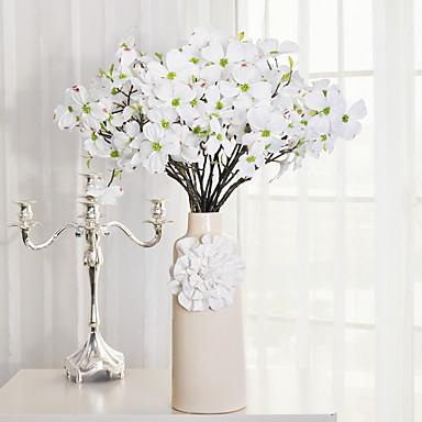 Kunstbloemen 1 Tak Moderne Style Sakura Bloemen voor op tafel