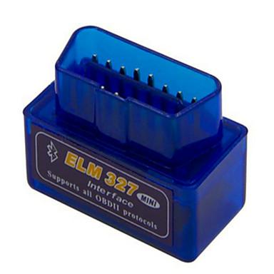 ELM327 azul ELM327 menor consumo de energia mini-versão 1.5 hardware OBD Bluetooth
